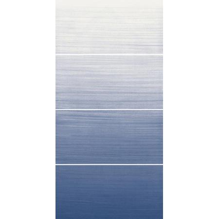 Villeroy & Boch Dégradé Dekor ścienny 25x50 cm, niebieski blue 1560DE41