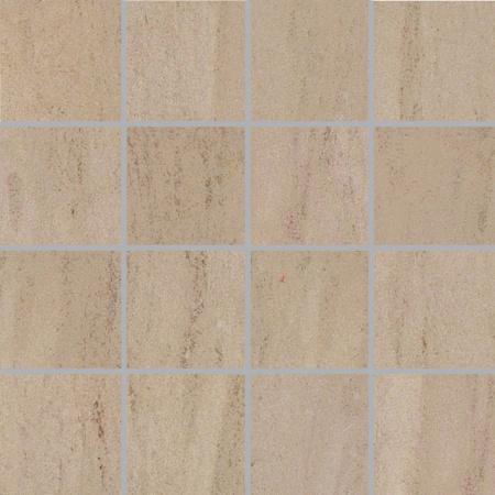 Villeroy & Boch East End Płytka podłogowa 7,5x7,5 cm rektyfikowana Vilbostoneplus, szarobeżowa greige 2305SI2M