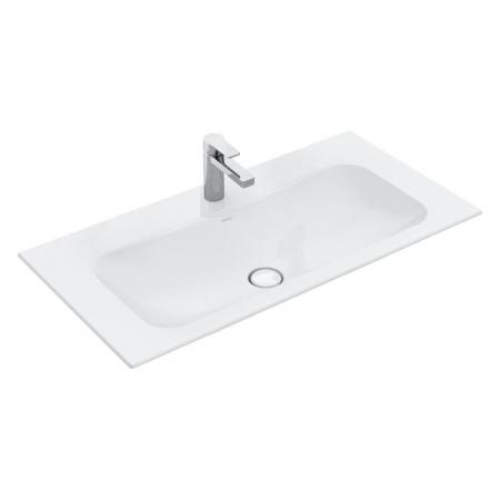 Villeroy & Boch Finion Umywalka meblowa 120x50 cm bez przelewu, z powłoką CeramicPlus, biała Weiss Alpin 4164C2R1