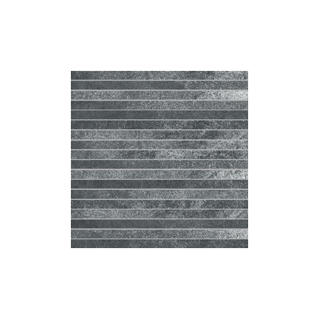 Villeroy & Boch Fire&Ice Dekor podłogowy Steel Lines 1,5x30 cm rektyfikowany, stalowoszary steel grey 2827MT20