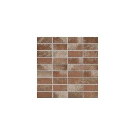 Villeroy & Boch Fire&Ice Mozaika podłogowa 3,3x7,5 cm rektyfikowana, miedziana copper red 2411MT10