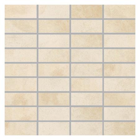 Villeroy & Boch Fire&Ice Mozaika podłogowa 3,3x7,5 cm rektyfikowana, platynowy beż platinum beige 2411MT30