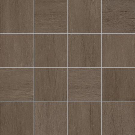 Villeroy & Boch Five Senses Mozaika podłogowa 7,5x7,5 cm rektyfikowana VilbostonePlus, brązowa brown 2422WF22
