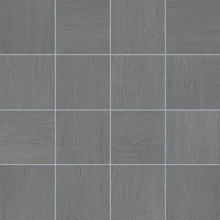 Villeroy & Boch Five Senses Mozaika podłogowa 7,5x7,5 cm rektyfikowana VilbostonePlus, szara grey 2422WF61