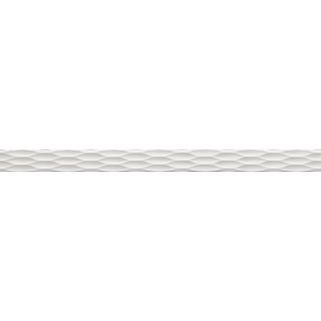 Villeroy & Boch Flowmotion Bordiura ścienna 5x70 cm, szara grey 1328GR68