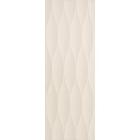 Villeroy & Boch Flowmotion Dekor ścienny 25x70 cm rektyfikowany CeramicPlus, szarobeżowy greige 1371GR65