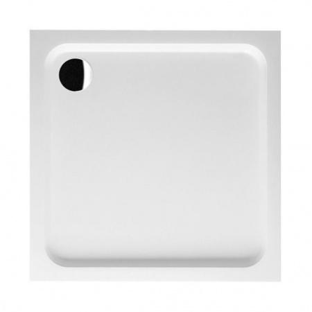 Villeroy & Boch Futurion Brodzik kwadratowy 80x80x6 cm z Quarylu, biały Weiss Alpin UDQ0806FUT1V-01