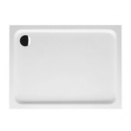Villeroy & Boch Futurion Brodzik prostokątny 120x80x6 cm z Quarylu, biały Weiss Alpin UDQ1286FUT2V-01