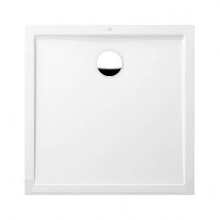 Villeroy & Boch Futurion Flat Brodzik kwadratowy 90x90x17 cm, biały Star White UDQ0900FFL1V96