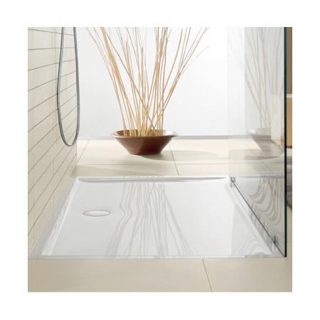 Villeroy & Boch Futurion Flat Brodzik kwadratowy 90x90x17 cm, biały Weiss Alpin DQ0900FFL1V01