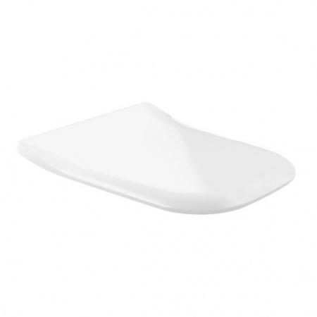 Villeroy & Boch Joyce Deska sedesowa Slimseat wolnoopadająca, biała Weiss Alpin 9M62S101