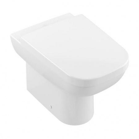 Villeroy & Boch Joyce Toaleta WC stojąca 37x56 cm, lejowa, z powłoką CeramicPlus, biała Star White 560810R2