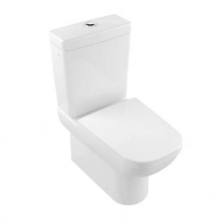Villeroy & Boch Joyce Toaleta WC stojąca kompaktowa 37x67 cm lejowa, biała Weiss Alpin 56121001