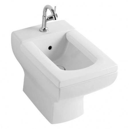 Villeroy & Boch La Belle Bidet stojący 38,5x58,5 cm, z przelewem, z powłoką CeramicPlus, biały Star White 544700R2