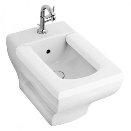 Villeroy & Boch La Belle Bidet podwieszany 38,5x58,5 cm, z przelewem, z powłoką CeramicPlus, biały Weiss Alpin 542700R1