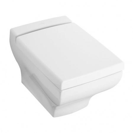 Villeroy & Boch La Belle Toaleta WC podwieszana 38,5x58,5 cm lejowa, z powłoką CeramicPlus, biała Weiss Alpin 562710R1