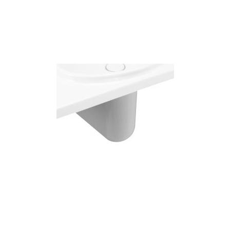 Villeroy & Boch La Belle Półpostument, z powłoką CeramicPlus, biały Weiss Alpin 528200R1