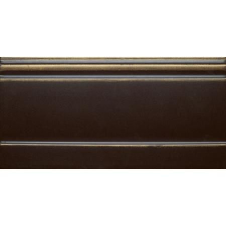 Villeroy & Boch La Diva Dekor brzeżny 15x30 cm, czarny tulipe noire 1773ET35