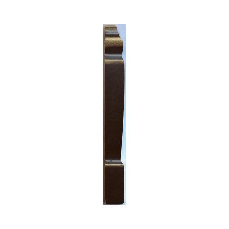Villeroy & Boch La Diva Dekor narożny 2x15 cm, czarny tulipe noire 1774ET35