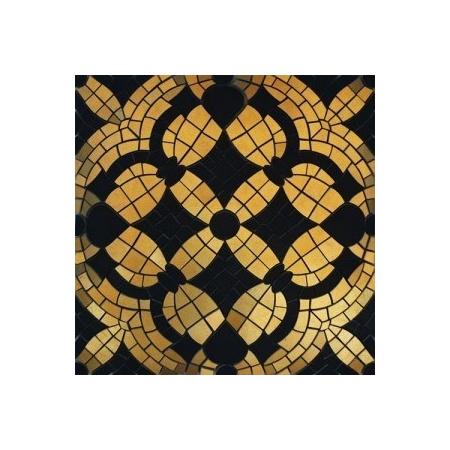Villeroy & Boch La Diva Mozaika ścienna 30x30 cm, czarno-złota tulipe noire-gold 1860ET39