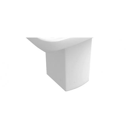 Villeroy & Boch Legato Półpostument, biały Weiss Alpin CeramicPlus 522200R1