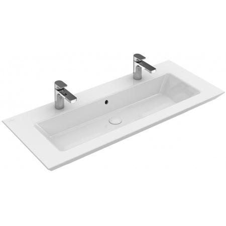 Villeroy & Boch Legato Umywalka meblowa bez przelewu 120x50 cm, biała Weiss Alpin CeramicPlus 4153C1R1