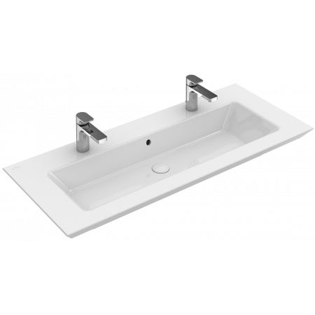 Villeroy & Boch Legato Umywalka meblowa z przelewem 100x50 cm, biała Weiss Alpin 4153A401