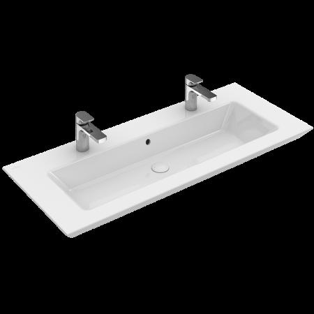 Villeroy & Boch Legato Umywalka meblowa z przelewem 100x50 cm, biała Weiss Alpin CeramicPlus 4153A4R1