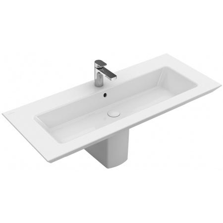 Villeroy & Boch Legato Umywalka meblowa z przelewem 120x50 cm, biała Weiss Alpin 4153C501
