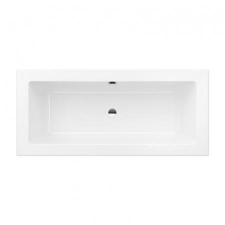 Villeroy & Boch Legato Duo Wanna prostokątna 180x80 cm, biała Weiss Alpin UBA180LEG2V-01