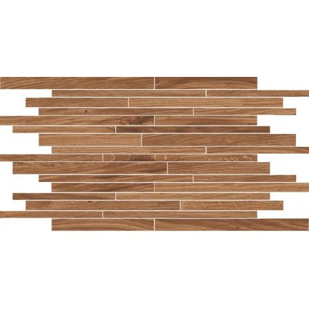 Villeroy & Boch Lodge Dekor podłogowy 30x50 cm rektyfikowany VilbostonePlus, brązowy brown 2654HW80