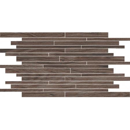 Villeroy & Boch Lodge Dekor podłogowy 30x50 cm rektyfikowany Vilbostoneplus, ciemnobrązowy dark brown 2654HW90