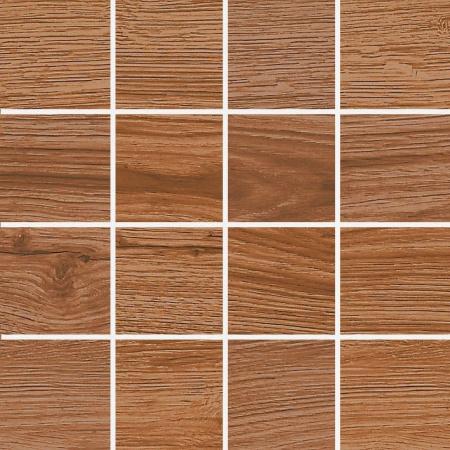 Villeroy & Boch Lodge Mozaika podłogowa 7,5x7,5 cm rektyfikowana Vilbostoneplus, brązowa brown 2362HW80