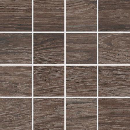 Villeroy & Boch Lodge Mozaika podłogowa 7,5x7,5 cm rektyfikowana Vilbostoneplus, ciemnobrązowa dark brown 2362HW90