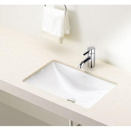 Villeroy & Boch Loop&Friends Umywalka podblatowa 54x34 cm, bez przelewu, biała Weiss Alpin 61630101