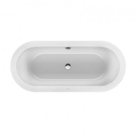 Villeroy & Boch Loop & Friends Oval Duo Wanna owalna o owalnej formie zewnętrznej i wewnętrznej 180x80 cm, biała Weiss Alpin UBA180LFO7V01