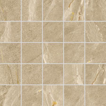 Villeroy & Boch Lucerna Mozaika podłogowa 7x7 cm rektyfikowana VilbostonePlus, beżowa beige 2174LU10