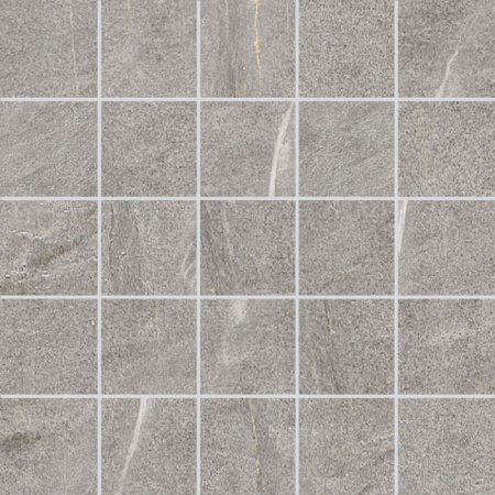 Villeroy & Boch Lucerna Mozaika podłogowa 7x7 cm rektyfikowana VilbostonePlus, szara grey 2174LU60