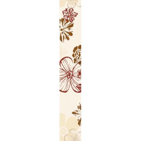 Villeroy & Boch Melrose Bordiura 10x60 cm rektyfikowana, czerwonobeżowa red-beige 1891NW35
