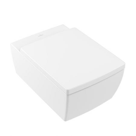 Villeroy & Boch Memento 2.0 Toaleta WC podwieszana 56x37,5 cm DirectFlush bez kołnierza z powłoką CeramicPlus biała 4633R0R1