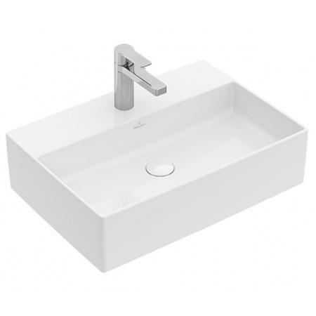 Villeroy & Boch Memento 2.0 Umywalka nablatowa 50x42 cm bez przelewu z powłoką CeramicPlus, biała 4A0751R1