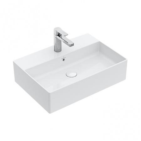 Villeroy & Boch Memento 2.0 Umywalka nablatowa 50x42 cm z przelewem z powłoką CeramicPlus, biała 4A0750R1