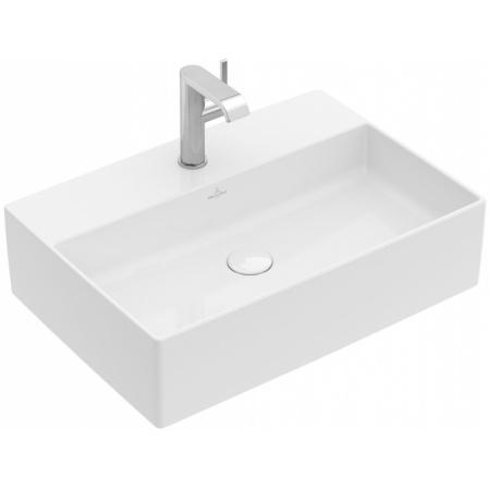 Villeroy & Boch Memento 2.0 Umywalka nablatowa 60x42 cm bez przelewu z powłoką CeramicPlus, biała 4A0761R1