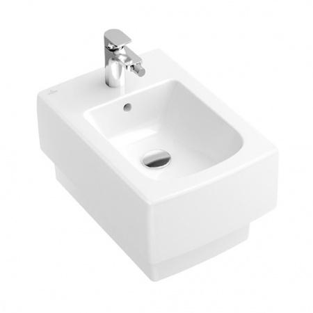 Villeroy & Boch Memento Bidet podwieszany 37,5x56 cm bez powłoki, biały Weiss Alpin 54280001
