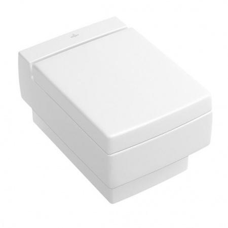 Villeroy & Boch Memento Muszla klozetowa miska WC podwieszana 37,5x56 cm z powłoką CeramicPlus, biała Edelweiss 562810S3
