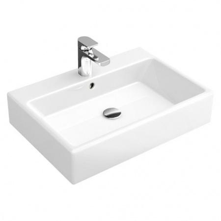 Villeroy & Boch Memento Umywalka nablatowa 50x42 cm bez powłoki, biała Weiss Alpin 51355001