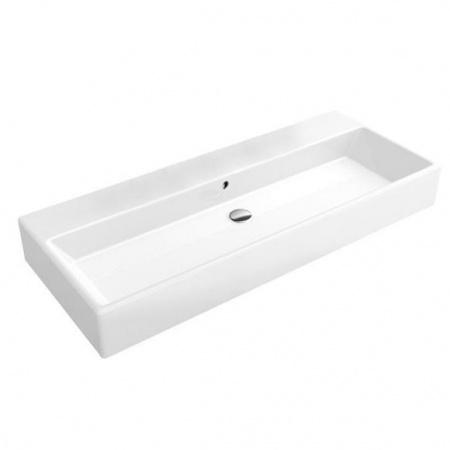 Villeroy & Boch Memento Umywalka wisząca 120x47 cm bez powłoki, biała Weiss Alpin 5133CJ01