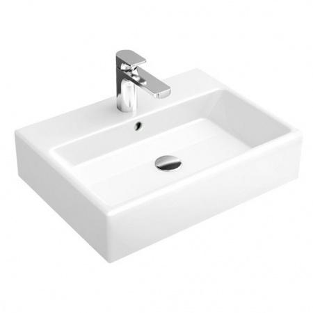 Villeroy & Boch Memento Umywalka wisząca 50x42 cm bez powłoki, biała Weiss Alpin 51335001