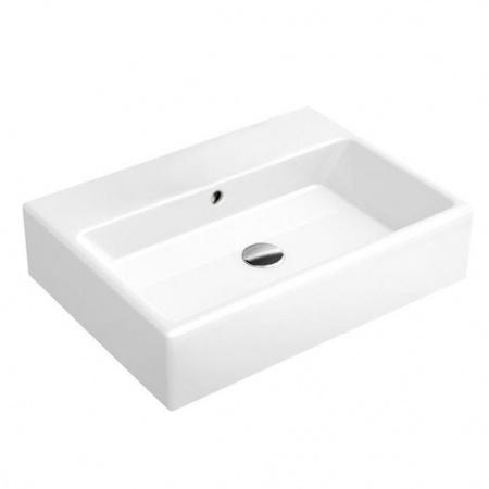 Villeroy & Boch Memento Umywalka wisząca 50x42 cm bez powłoki, biała Weiss Alpin 51335201
