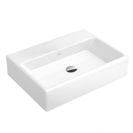 Villeroy & Boch Memento Umywalka wisząca 50x42 cm bez powłoki, biała Weiss Alpin 51335301